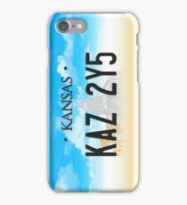 Supernatural Kansas Impala Plate iPhone Case/Skin