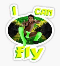 I can FLY | Kofi Kingston Sticker
