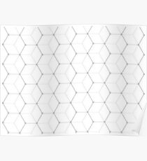 Black and White Pattern IV Poster