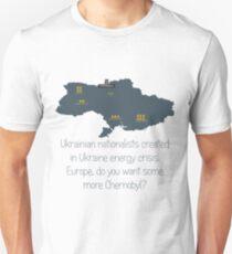 Nuclear danger of Ukraine Unisex T-Shirt