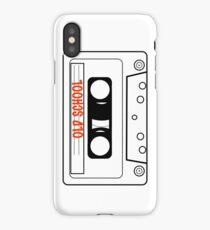 Retro Oldschool Cassette Tape Tees iPhone Case/Skin