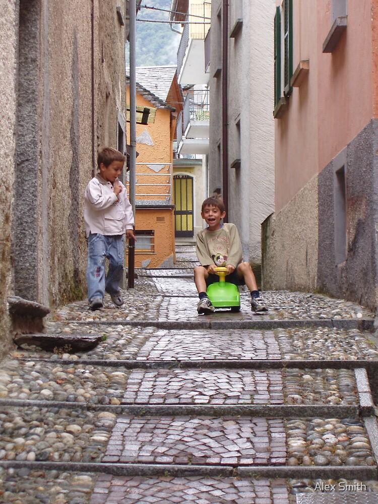 Italian children by Alex Smith