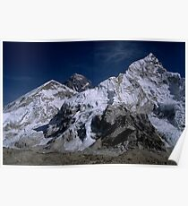 Top of the World - Mount Everest Poster