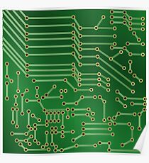 printed circuit board posters redbubble