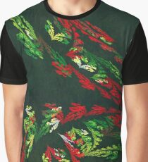 Floral pattern with Japanese Influence Graphic T-Shirt