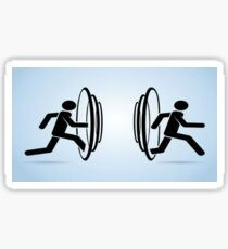 teleportation  Sticker
