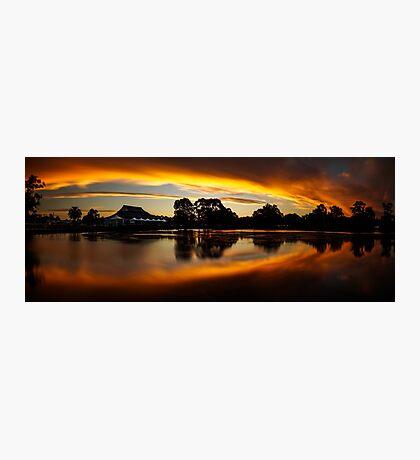 Weeroona Sunset Photographic Print