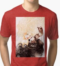 Gemini Zodiac Sign Tri-blend T-Shirt