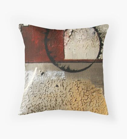 On The Wall Throw Pillow