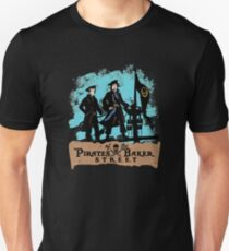 Pirates of the Baker Street. Sherlock and Watson. T-Shirt