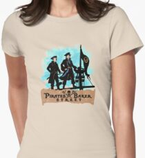 Pirates of the Baker Street. Sherlock and Watson. Womens Fitted T-Shirt