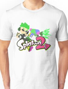 Splatoon 2 - Green Male Inkling Shirt Unisex T-Shirt
