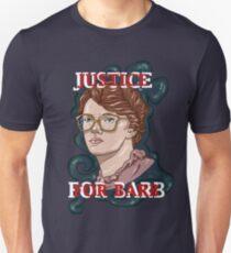 Camiseta ajustada ¡Justicia para Barb!