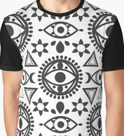 Evil Eye Graphic T-Shirt