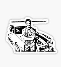 Paul Walker Skyline Desert Sticker