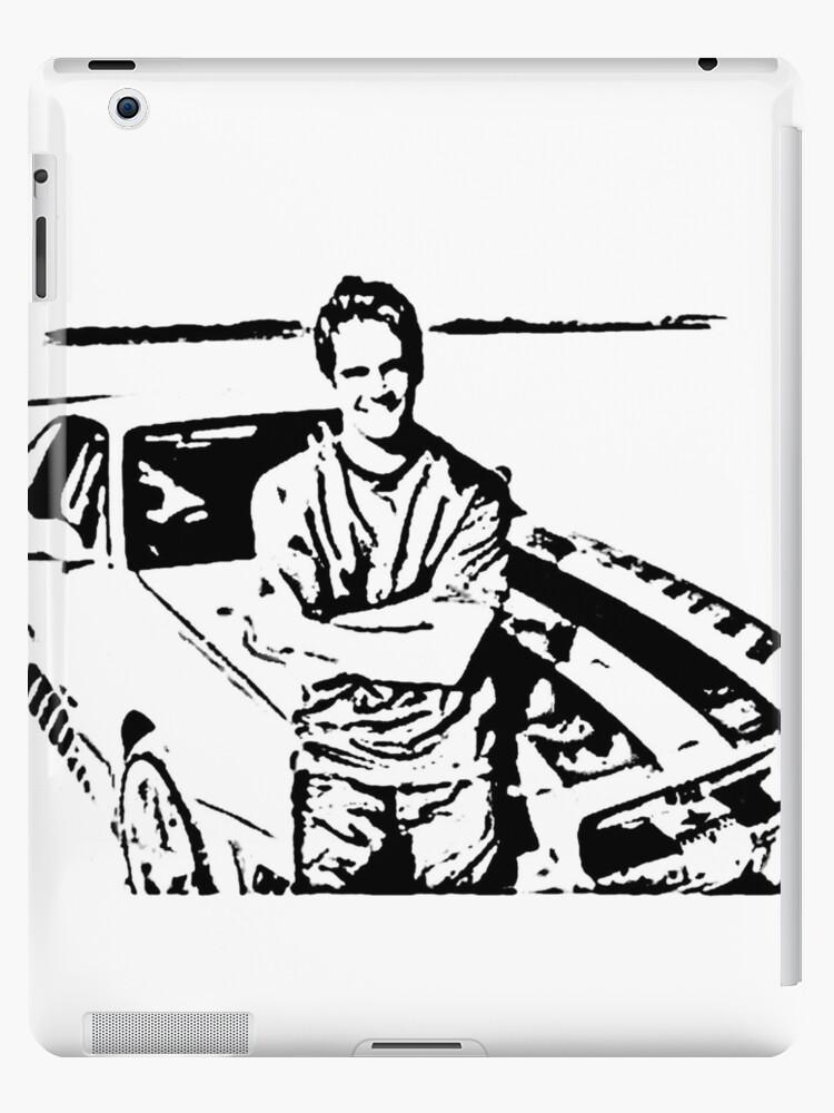 Paul Walker Skyline Desert Ipad Cases Skins By Garryx