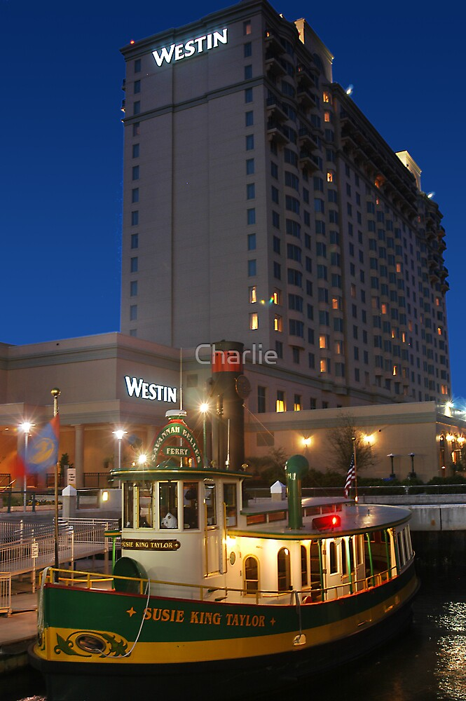 Westin with Ferry Boat by Charlie