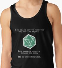 Natural 1 - Orc (White) Tank Top
