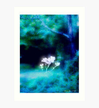 Hope Blooms Art Print