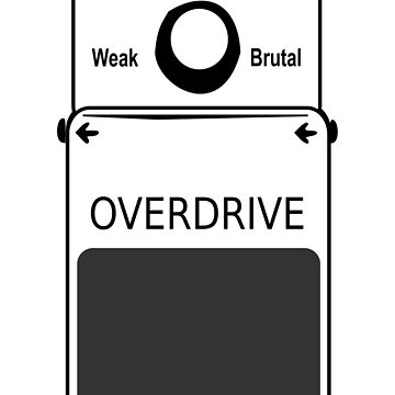 Guitar Stompbox Overdrive Brutal by humanwurm