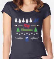 Ugly Christmas Sweater Special Women's Fitted Scoop T-Shirt