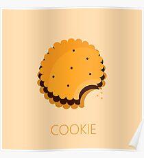cookie illustration Poster