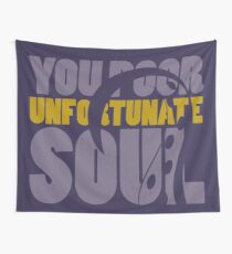 Unfortunate soul Wall Tapestry