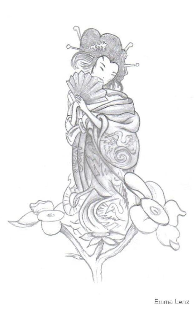 geisha by Emma Lenz