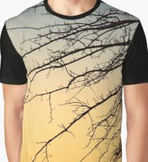 Tree Branches At Dawn | New York City, New York Graphic T-Shirt
