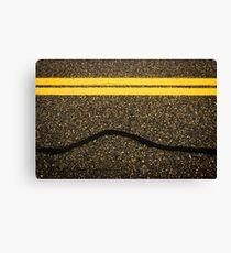 Road Work Canvas Print