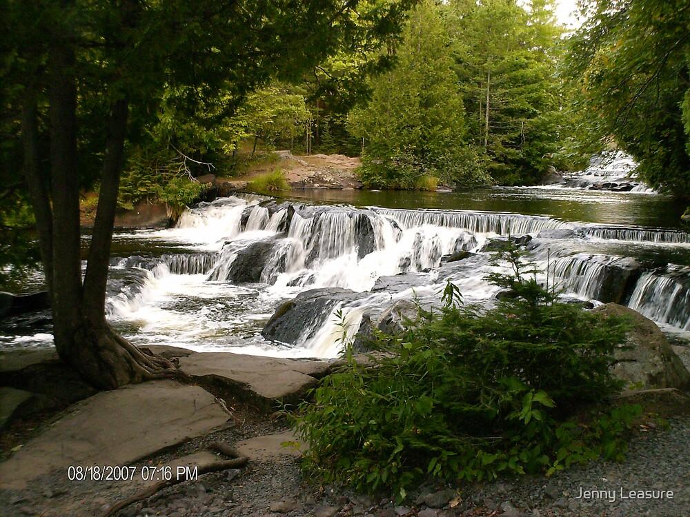 Water Falls by Jenny Leasure