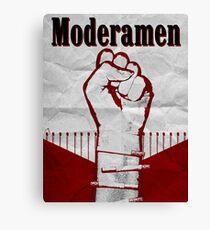 Moderamen Canvas Print