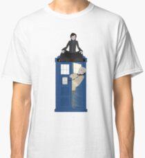 Sherlock - Doctor Who - Wholock Classic T-Shirt