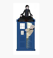 Sherlock - Doctor Who - Wholock Photographic Print