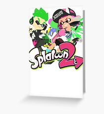 Splatoon 2 - Inklings Greeting Card