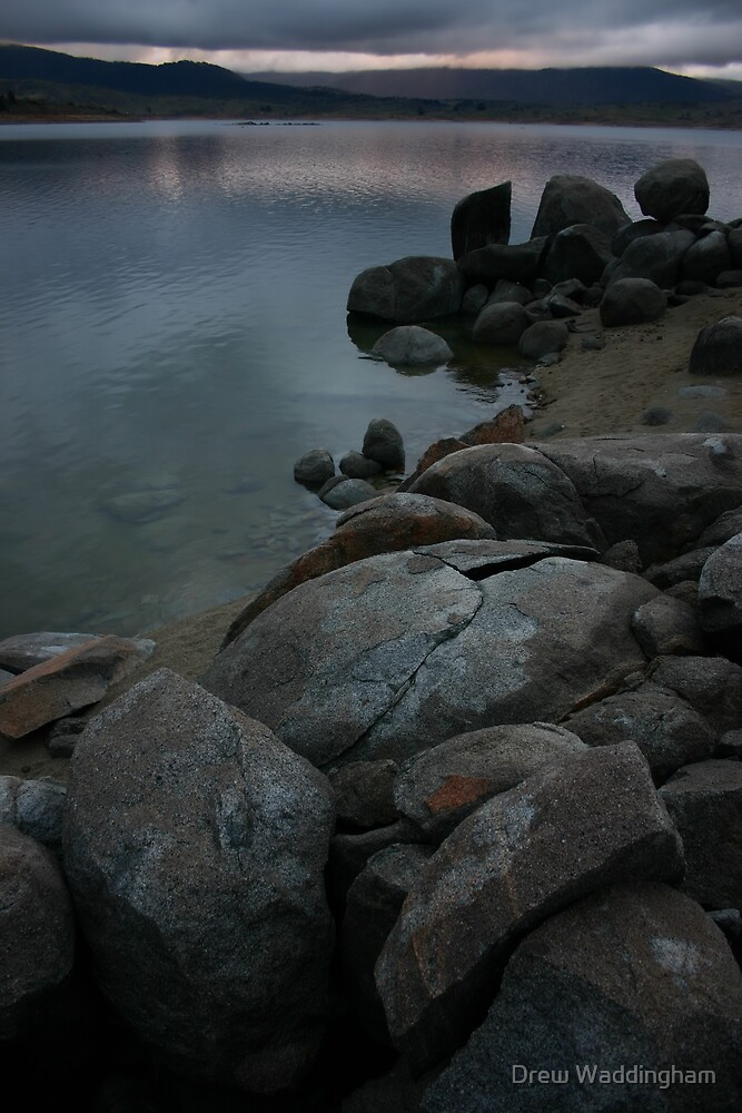 Lake Jindabyne, Mid Winter 2005 by Drew Waddingham