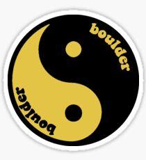 CU Ying Yang Sticker