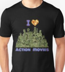 I love Action Movies Unisex T-Shirt