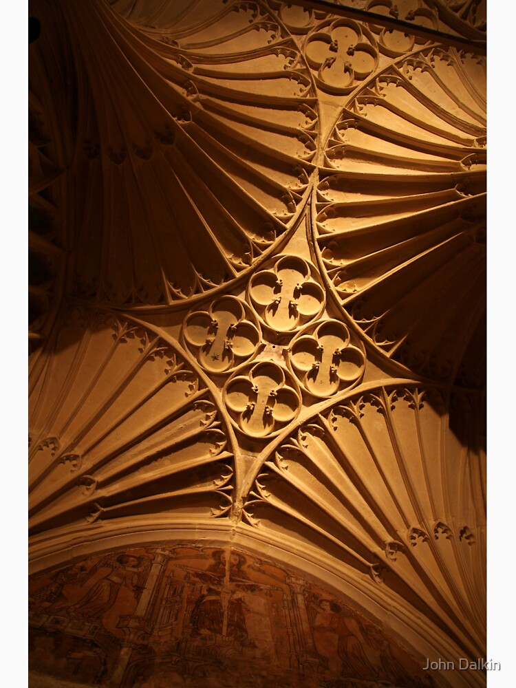 Tewkesbury Abbey - Vaulted Ceiling by JohnDalkin