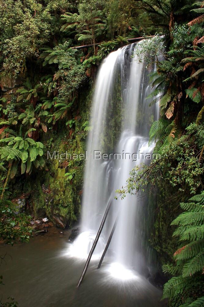 Beauchamp Falls Victoria by Michael  Bermingham