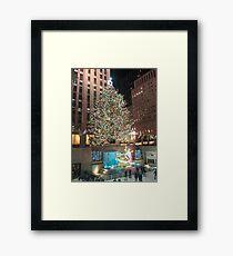 Christmas in New York Framed Print