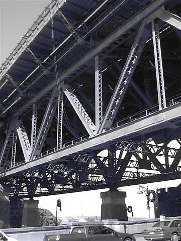 south approach Sydney harbour bridge by bakfire