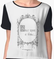 Once Upon a Time Magic Mirror Women's Chiffon Top