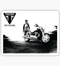 Triumph cruiser Sticker