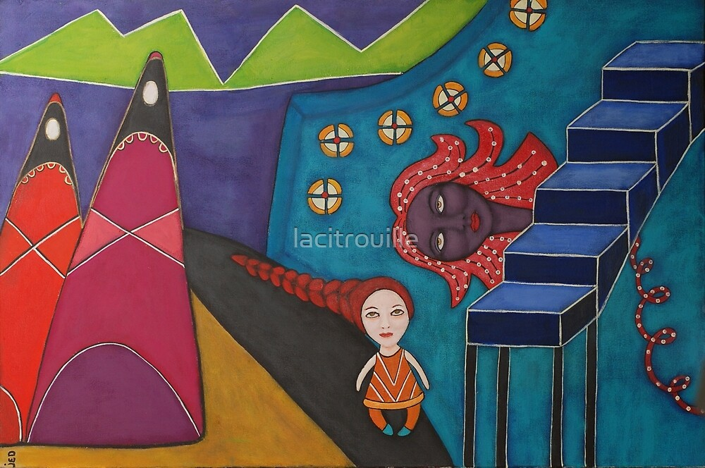 The Little Monster's Path by lacitrouille