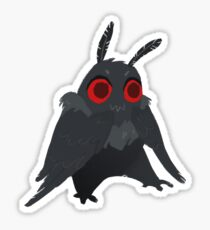 Mothman 2 Sticker