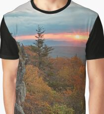 Autumn Dolly Sods Sunrise - Bear Rocks Graphic T-Shirt