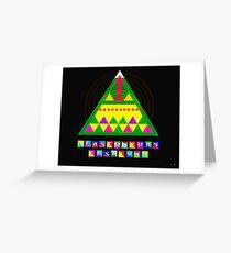 GLASTONBURY FESTIVAL Greeting Card