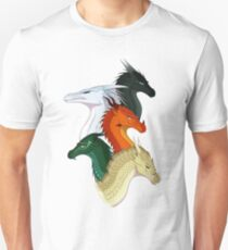 Wings of Fire Second Arc Main Characters Unisex T-Shirt