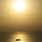 Sunset in Santorini by Tim Condon